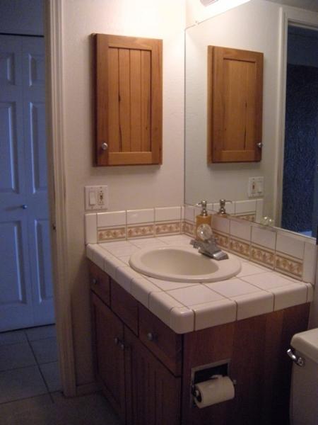 downstairs vanity