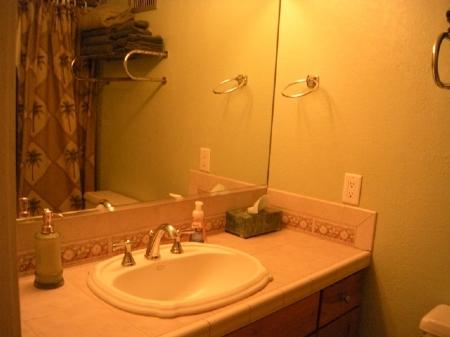 upstairs loft vanity