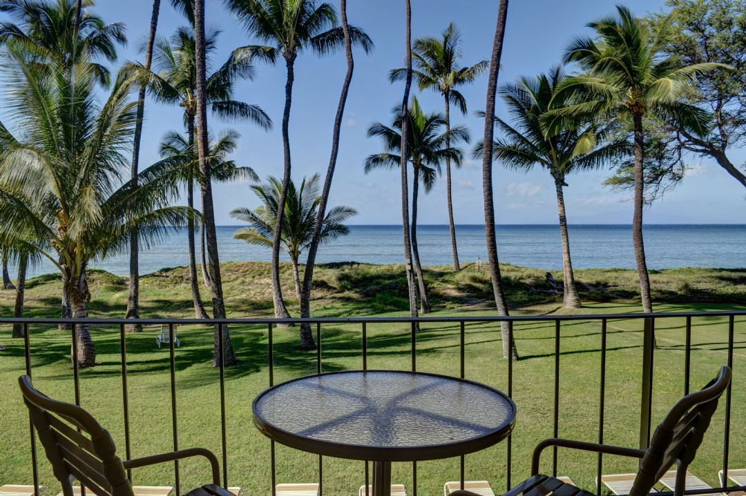 Amazing oceanfront views from your private lanai