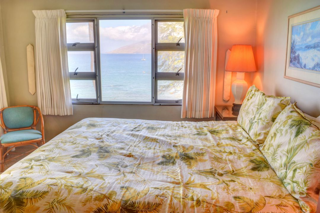 Incredible ocean view from the master bed