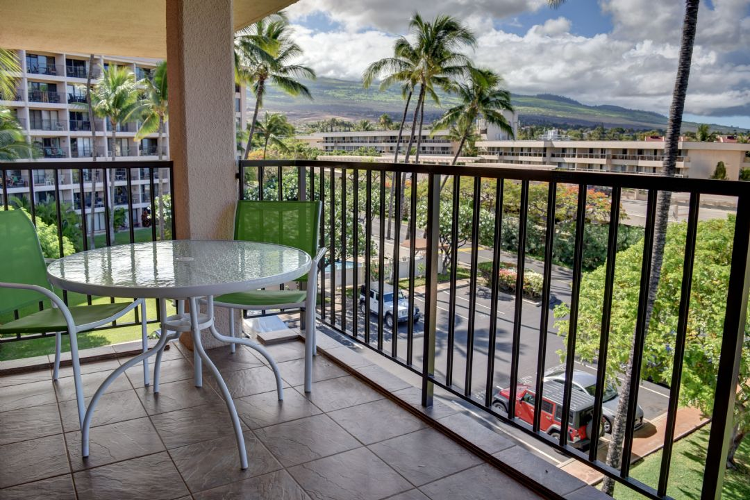 View of Haleakala from your lanai